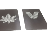 Grinder tip 'card' din metal KND